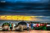 Pescadores a espera para sair para o Mar em Barra Velha-SC