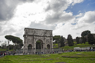 Ancient Roman Gate