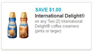 International Delight coupon