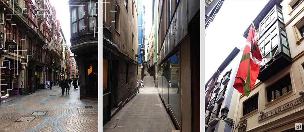 Ruas de casco Viejo