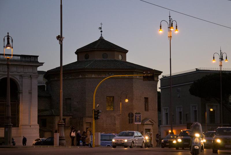 Roma Baptistero San Giovanni in Laterano