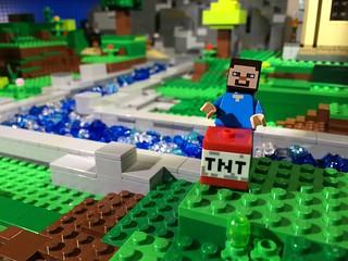 Woodrow Village Minecraft: TNT!