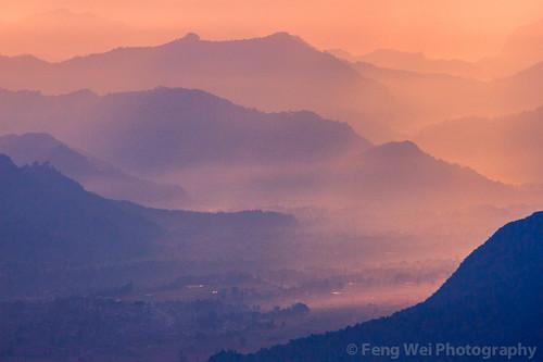 nepal color beautiful silhouette horizontal landscape dawn colorful asia outdoor scenic np annapurnacircuit annapurna himalayas breathtaking gandaki ghandruk australiancamp westernregion annapurnaconservationarea annapurnasancturarytrek