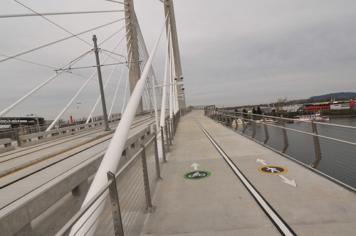 My first walk across Tilikum Bridge-12