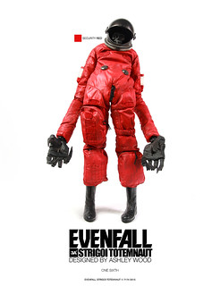 threeA – Evenfall 系列【紅色太空殭屍】RETAIL RED STRIGOI 1/6TH 零售版