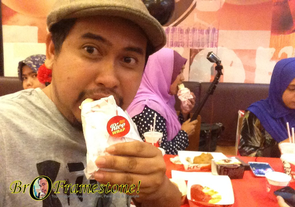 KFC Zinger Rice Wrap RM4.90