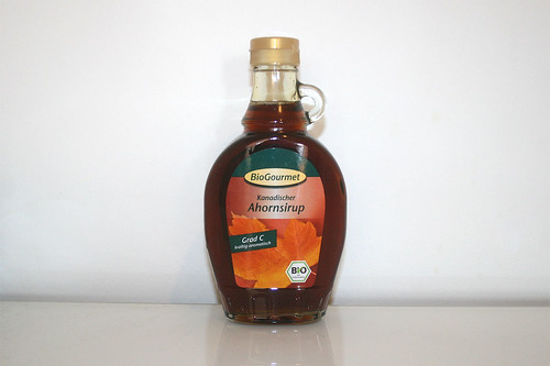 15 - Zutat Ahornsirup / Ingredient maple syrup