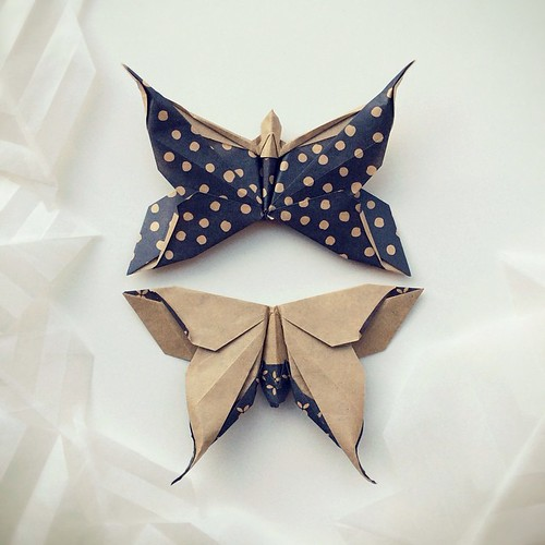 Origami Butterflies by Paperaria