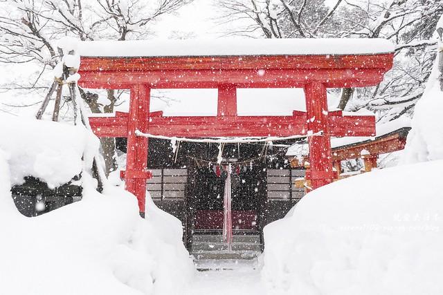 20150214米澤雪燈籠-04米澤市區-1260415