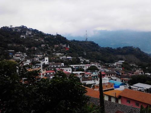 méxico árboles pueblo sierra puebla casas cerros pueblos pueblomágico pahuatlán sierranortedepuebla