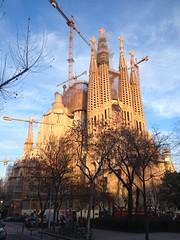 Templo Expiatorio de la Sagrada Familia. Barcelona