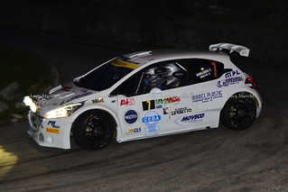 2° Rally 2 Laghi 2015 - Margaroli / Dresti - Peugeot 208 T16 R5 PA Racing