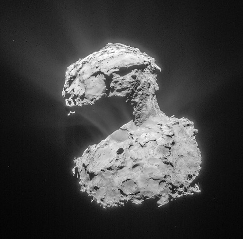 Comet 67P on 14 March 2015 – NavCam