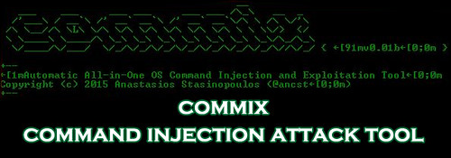 Commix - Command Injection Attack Tool