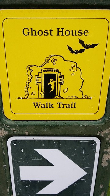 Ghost House Trail Marker