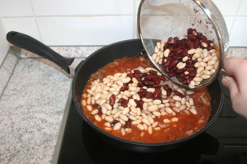 46 - Weiße & rote Bohnen hinzu geben / Add white & red beans