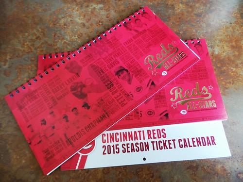 2015 Reds Season Tickets