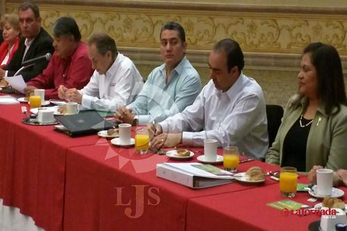 Se reuné Carreras López con hoteleros potosinos