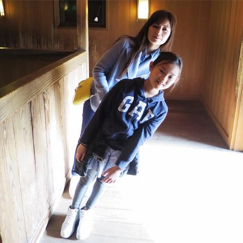 斜に構える二人 #日光江戸村 #edowonderland