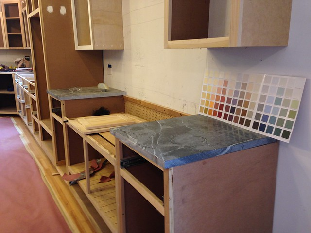 Kitchen Update // Vol. 2, Installing the Cabinets