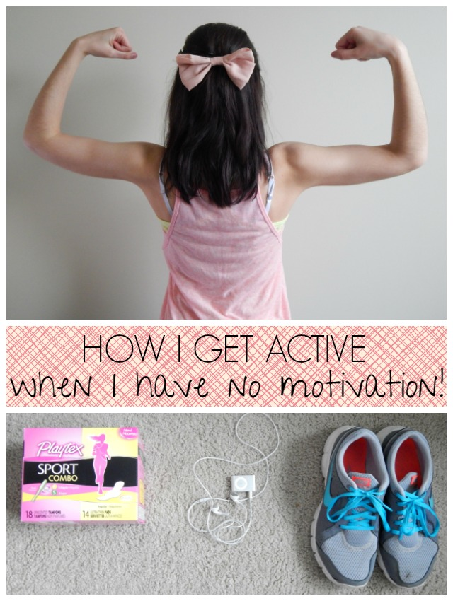 How to Get Active When You Have No Motivation!