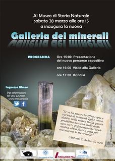 Calci galleria dei minerali