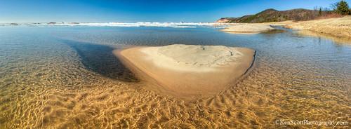 Lake Michigan … fresh water 'sandra ray'