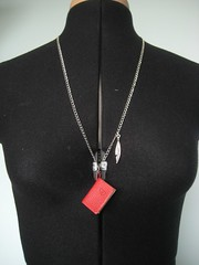 Notebook necklace