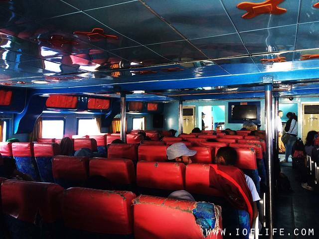 kapal cantika interior