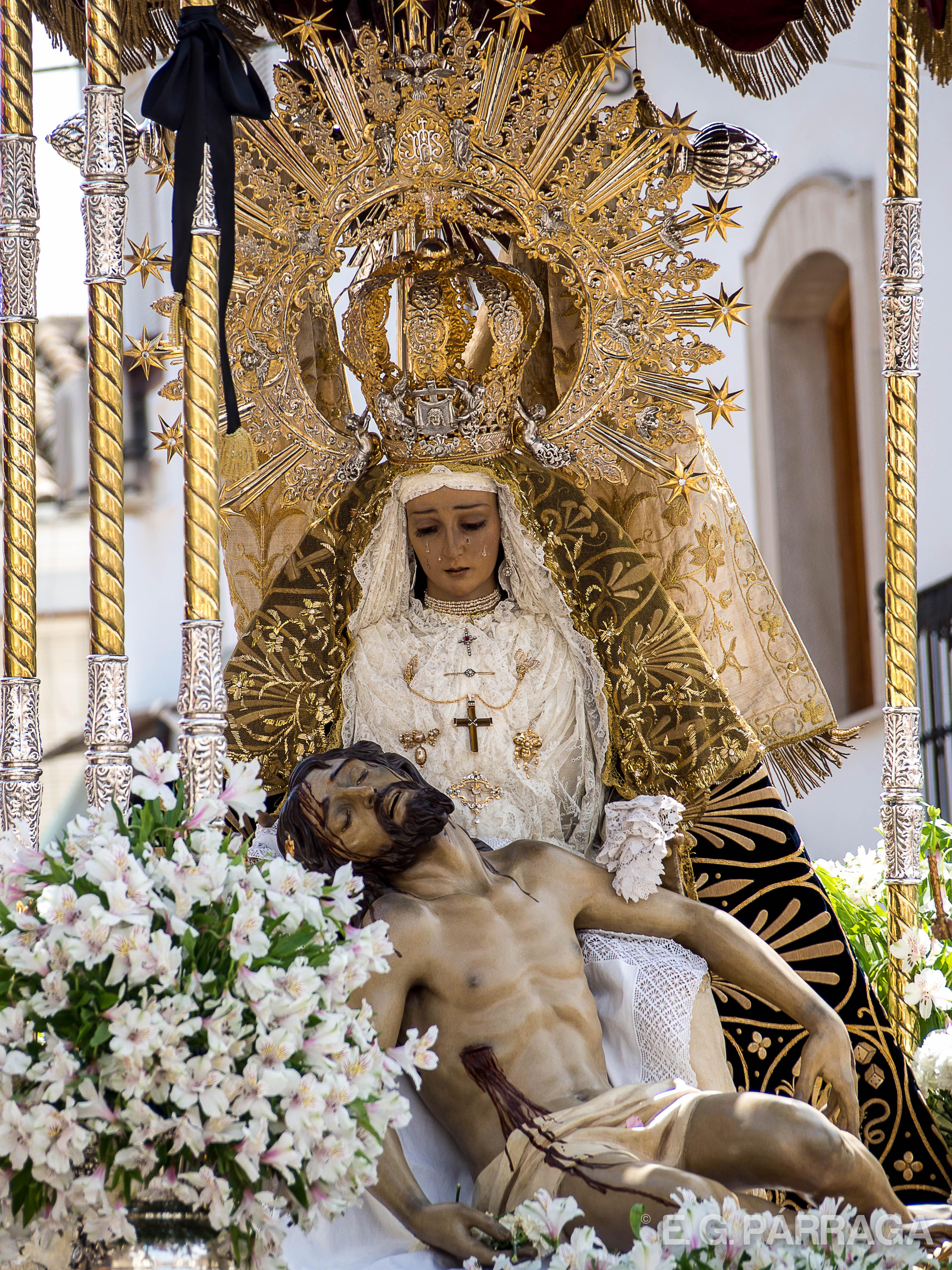 Virgen de las Angustias Torredonjimeno