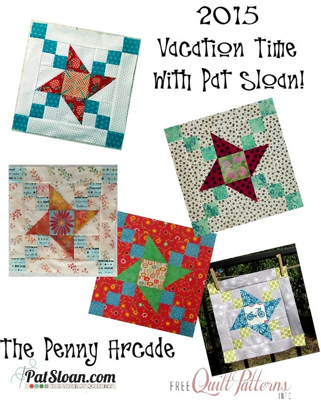 Pat Sloan 2015 April Vacation Time Quilt show