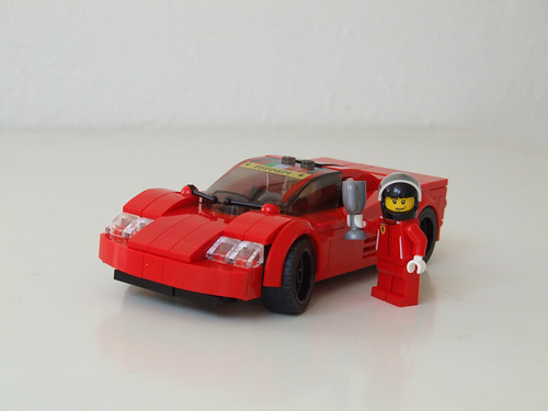 Moc Ferrari Lemans 7 Wide Speed Champions Alternate