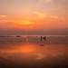 Ballyheigue Beach  Sunset by P i a :)