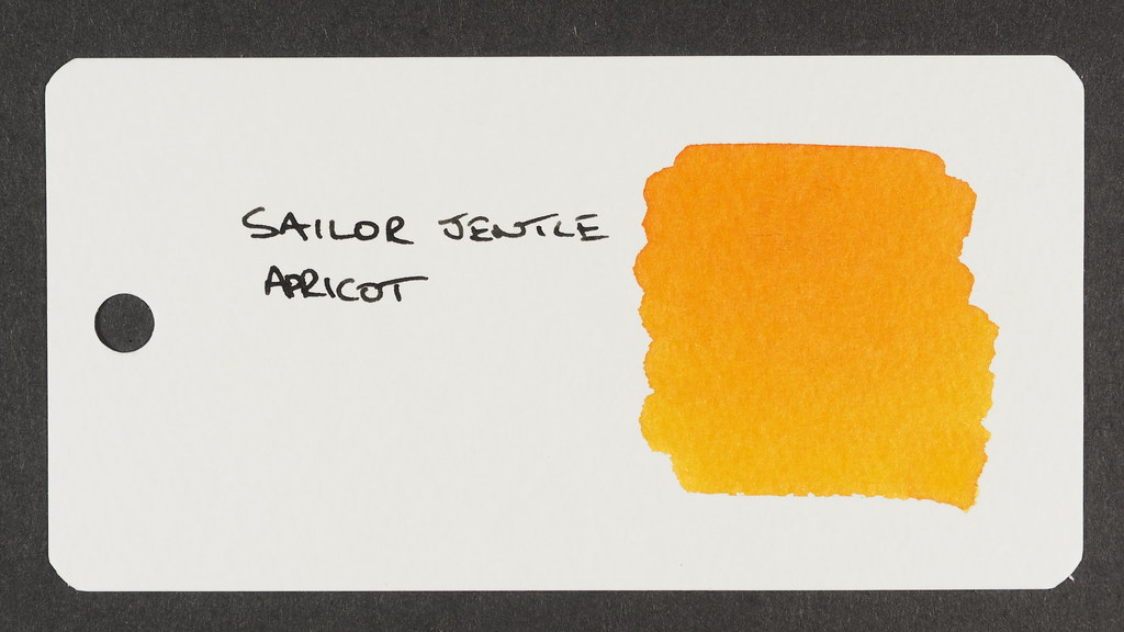 Sailor Jentle Apricot - Word Card