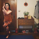 April 12: eagle! (Doing #badyogisdoit with @angbisho !) #yoga