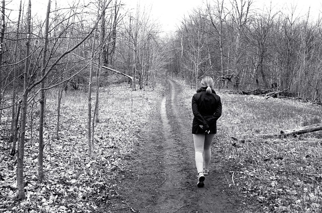 Walking on the Bruce Trail_