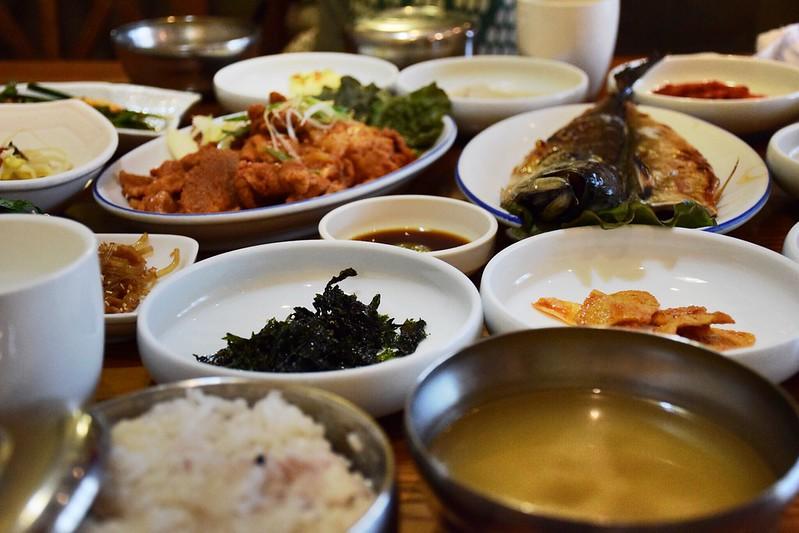Comida tradicional coreana.