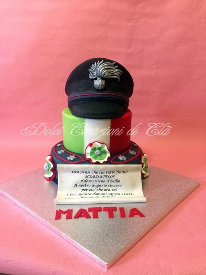 Student Policeman Cake by Claudia Zara