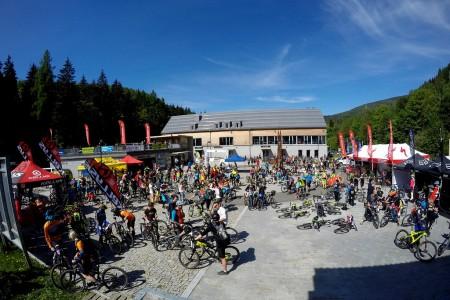 Bike SNOW tour: první závod Enduroserie v Koutech