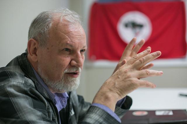 """""""La última cosa que los golpistas y el cómplice Supremo Tribunal Federal están haciendo es respetar la Constitución"""" - Créditos: Guilherme Santos/Sul 21"""