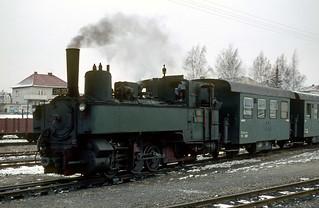 91. Gmünd Schmalspurbahnhof, ÖBB 298.207 (Ehem. NÖLB Uv.3)