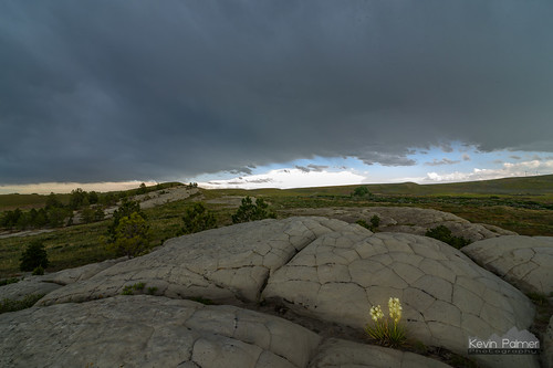 wyoming glenrock june summer evening nikond750 tokina1628mmf28 storm stormy thunderstorm clouds weather yellow yucca flower stone severe rain bloom blooming