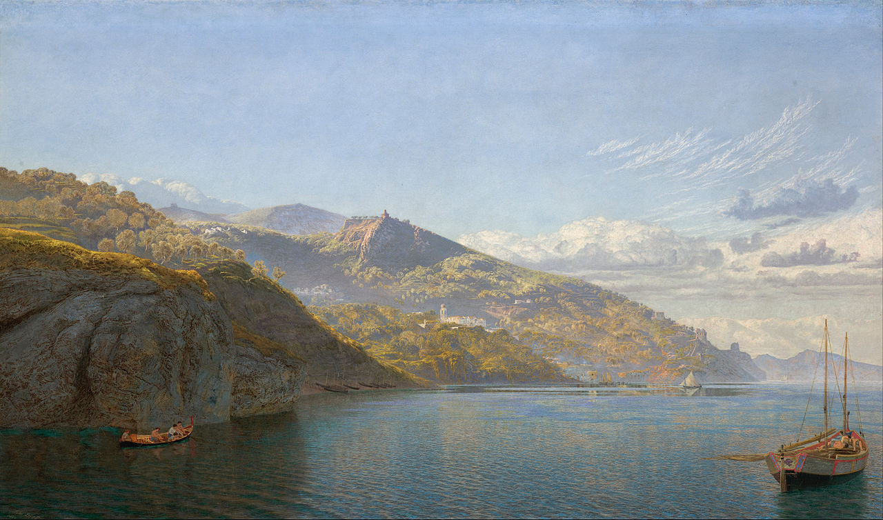 Brett, John - Massa, Bay of Naples, 1864