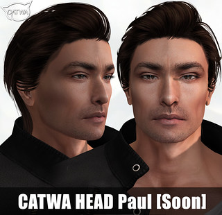Asian Male Head Paul [Soon]