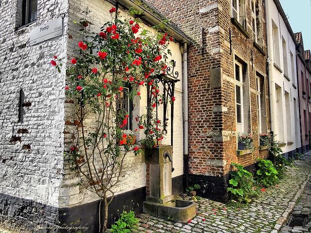 Beguinage in Lier, Belgium