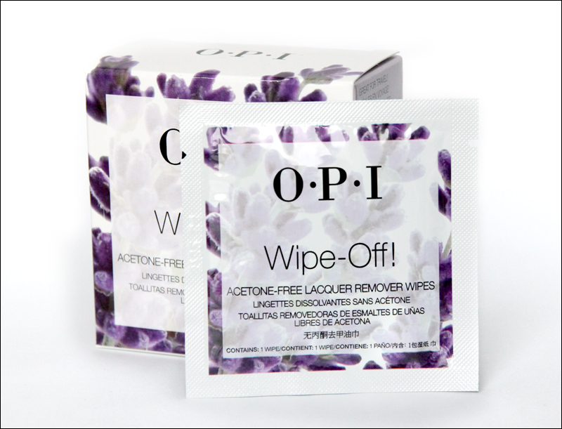 OPI wipe-off!