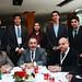 Los académicos Juan Patricio Ibáñez y Jorge Ipinza, junto a estudiantes de Universidad Técnico Federico Santa María, que participaron de Cooperclor 2016