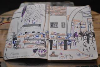 Next Door, Garden Cafe, 2014