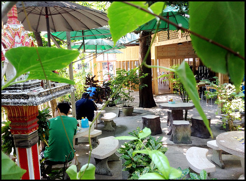 Krua Suan Cha Outdoor Garden Seating