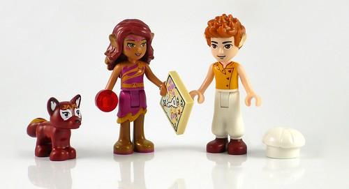 LEGO Elves 41074 Azari and the Magical Bakery figures01